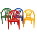 Rental store for Chair - Kids Plastic Patio  Blue in Grand Cayman KY