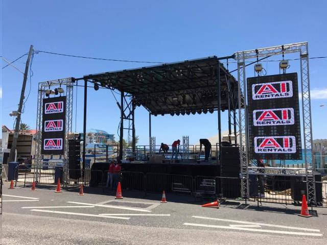 Rent Mobile Stage